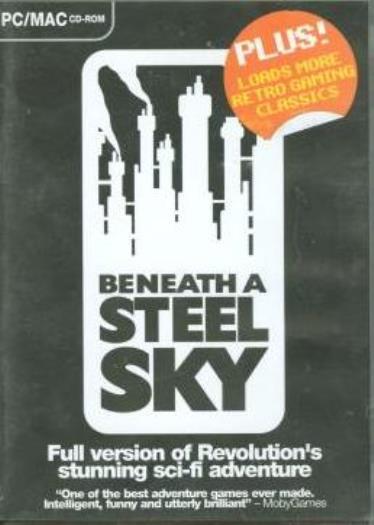 Retro Gamer: Beneath A Steel Sky PC MAC CD gaming classics